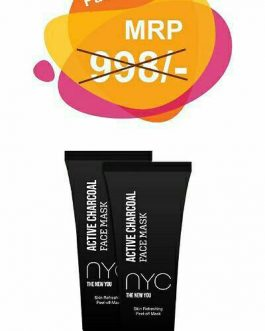 NYC Active Charcoal Peel Off Mask – (Pack of 2)