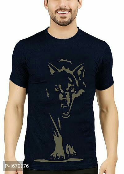 mens printed cotton tees