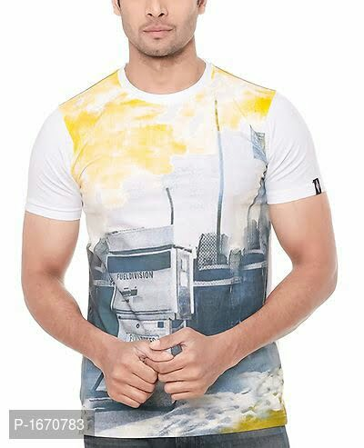 Men's Printed Cotton Tees