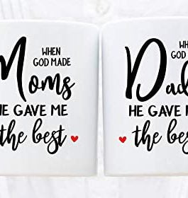 Printed Coffee Mugs For Mom Dad