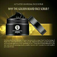 Men's Exclusive – Activated Charcoal Face Scrub – (Pack of 2)