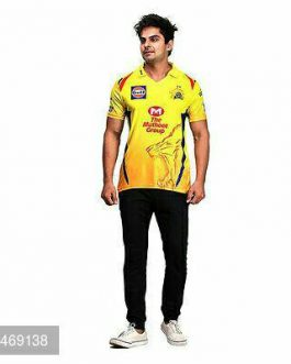 Unisex Polyester IPL T-Shirts (Chennai Super Kings)