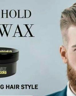 Men's Exclusive – Hair Wax (Strong Hold) – (Pack of 2)