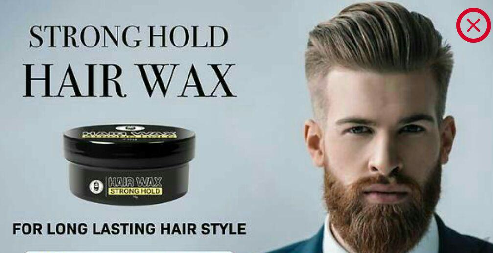 Men S Exclusive Hair Wax Strong Hold Pack Of 2 Style Creators