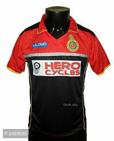 Men's Printed IPL Polyster T-Shirts