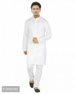 Cotton Kurta Pajama Set For Men