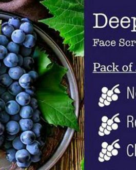 Grapes Face Scrub – (Pack of 2)