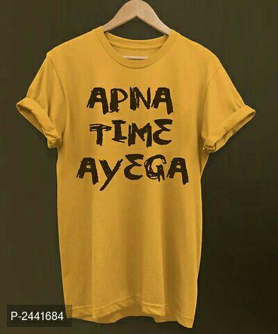 Printed Cotton Tees Apna time ayega