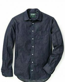 Denim Slim Fit Shirts For Men