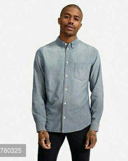 Denim Slim Fit Shirts For Men