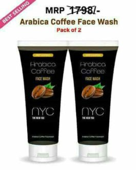 NYC Arabica Coffee Face Wash – (Pack of 2)