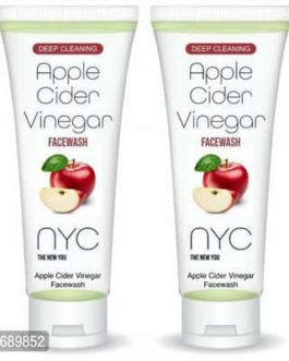 NYC Apple Cider Vinegar Face wash – (Pack of 2)