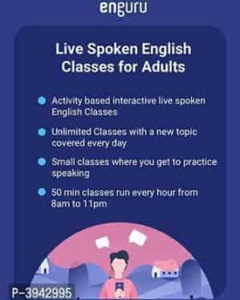 Enguru Live Spoken English Classes for Adults