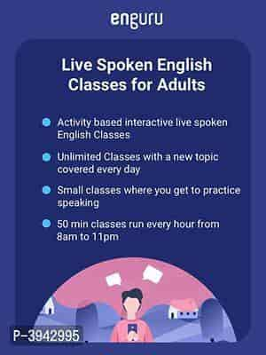 Live Spoken English Classes for Adults