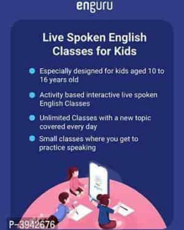 Enguru Live Spoken English Classes for Kids