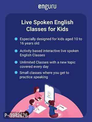 Live Spoken English Classes for Kids