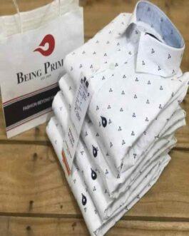 Being Primal Cotton Printed Men Shirts