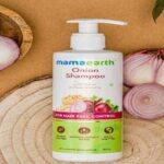 Mamaearth Onion Shampoo For Hair Growth With Plant Keratin
